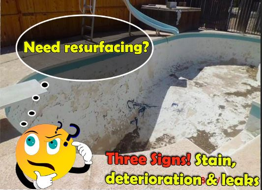 Three Signs To Consider Pool Resurface